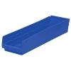 """Blue Akro-Mils® Shelf Bin - 23-5/8"""" L x 6-5/8"""" W x 4"""" Hgt."""