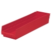 "23-5/8"" L x 6-5/8"" W x 4"" H Red Akro-Mils® Shelf Bin"