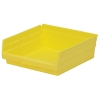 "11-5/8"" L x 11-1/8"" W x 4"" H Yellow Akro-Mils® Shelf Bin"