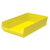 "17-7/8"" L x 11-1/8"" W x 4"" H Yellow Akro-Mils® Shelf Bin"