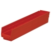 "23-5/8"" L x 4-1/8"" W x 4"" H Red Akro-Mils® Shelf Bin"