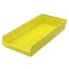 "23-5/8"" L x 11-1/8"" W x 4"" Hgt. Yellow Akro-Mils® Shelf Bin"
