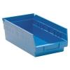 "11-5/8"" L x 6-5/8"" W x 4"" Hgt. Blue Quantum® Economy Shelf Bin"