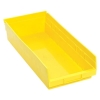 "17-7/8"" L x 8-3/8"" W x 4"" Hgt. Yellow Quantum® Economy Shelf Bin"