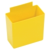 "3-1/4""L x 1-3/4""W x 3""H Yellow Small Bin Cup"