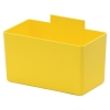 "5-1/4""L x 2-3/4""W x 3""H Yellow Large Bin Cup"