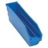 "11-5/8"" L x 2-3/4"" W x 4"" Hgt. Blue Quantum® Economy Shelf Bin"