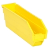 "11-5/8"" L x 2-3/4"" W x 4"" Hgt. Yellow Quantum® Economy Shelf Bin"