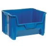 "15-1/4""L x 19-7/8""W x 12-7/8""H Blue Quantum® Giant Stack Container"
