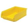 """19-3/4""""L x 12-3/8""""W x 5-7/8""""H Yellow Quantum® Magnum Storage Bin"""