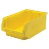 """Yellow Quantum® Magnum Storage Bin - 19-3/4"""" L x 12-3/8"""" W x 7-7/8"""" Hgt."""