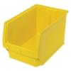 """19-3/4""""L x 12-3/8""""W x 11-7/8""""H Yellow Quantum® Magnum Storage Bin"""