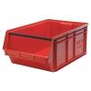 """29""""L x 18-3/8""""W x 11-7/8""""H Red Quantum® Magnum Storage Bin"""