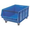 """29"""" L x 18-3/8"""" W x 11-7/8"""" Hgt. Blue Quantum® Magnum Mobile Bin"""