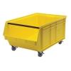"29"" L x 18-3/8"" W x 11-7/8"" Hgt. Yellow Quantum® Magnum Mobile Bin"