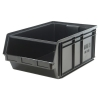"Black Quantum® Magnum Storage Bin - 29"" L x 18-3/8"" W x 11-7/8"" Hgt."