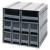 Interlocking Storage Cabinet w/8 IDR 202 & 2 IDR 204 Drawers