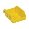 """12-1/2""""L x 8-3/8""""W x 5""""H Yellow QuickPick Double Sided Bin"""