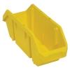 """18-1/2""""L x 6-5/8""""W x 7""""H Yellow QuickPick Double Sided Bin"""