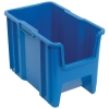 "17-1/2""L x 10-7/8""W x 12-1/2""H Blue Quantum® Giant Stack Container"