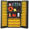 "Yellow Quantum® Heavy Duty 36"" Wide Cabinet w/Adjustable Shelves"
