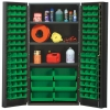 "Green Quantum® Heavy Duty 36"" Wide Cabinet w/Adjustable Shelves"
