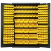 "Yellow Quantum® Heavy Duty 48"" Wide Cabinet"