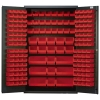 "Red Quantum® Heavy Duty 48"" Wide Cabinet"