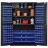 "Blue Quantum® Heavy Duty 48"" Wide Cabinet w/Adjustable Shelves"