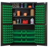 "Green Quantum® Heavy Duty 48"" Wide Cabinet w/Adjustable Shelves"