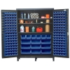 "Blue Quantum® Heavy Duty 60"" Wide Cabinet w/Adjustable Shelves"