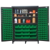 "Green Quantum® Heavy Duty 60"" Wide Cabinet w/Adjustable Shelves"