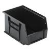 "Black Quantum® Ultra Series Stack & Hang Bin - 9-1/4"" L x 6"" W x 5"" Hgt."