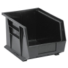 "Black Quantum® Ultra Series Stack & Hang Bin - 10-3/4"" L x 8-1/4"" W x 7"" Hgt."