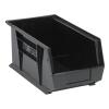 "Black Quantum® Ultra Series Stack & Hang Bin - 14-3/4"" L x 8-1/4"" W x 7"" Hgt."