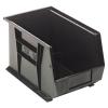 "Black Quantum® Ultra Series Stack & Hang Bin - 13-5/8"" L x 8-1/4"" W x 6"" Hgt."