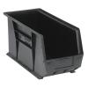 "Black Quantum® Ultra Series Stack & Hang Bin - 18"" L x 8-1/4"" W x 9"" Hgt."