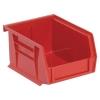"Red Quantum® Ultra Series Stack & Hang Bin - 5"" L x 4-1/8"" W x 3"" Hgt."