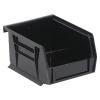 "Black Quantum® Ultra Series Stack & Hang Bin - 5"" L x 4-1/8"" W x 3"" Hgt."