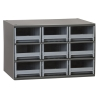 "Akro-Mils® Steel Frame Parts Cabinet with 9 Drawers - 5-3/16"" W x 3-1/6"" H x 10-9/16"" D"