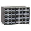 "Akro-Mils® Steel Frame Parts Cabinet with 28 Drawers - 10-9/16"" L x 2-3/16"" W x 2-1/16"" Hgt."