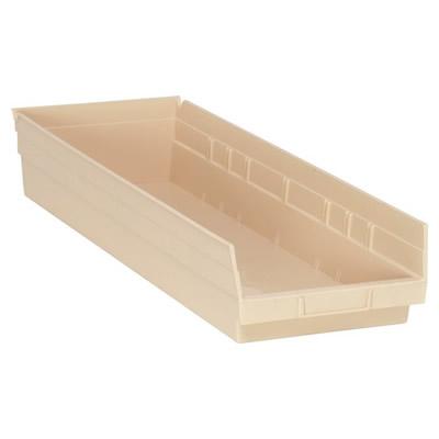 """Ivory Quantum® Economy Shelf Bin - 23-5/8"""" L x 8-3/8"""" W x 4"""" Hgt."""