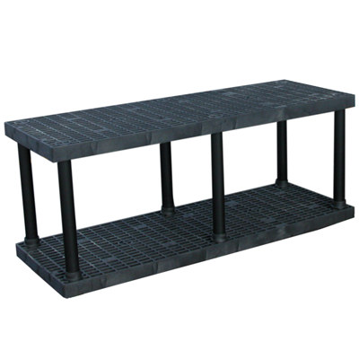 "2 Level Dura-Shelf® 27"" H x 66"" W x 24"" L"