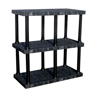 "3 Level Dura-Shelf® 51"" H x 48"" W x 24"" L"