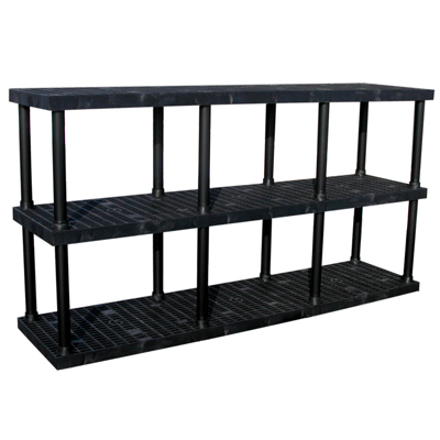 """3 Level Dura-Shelf® 51"""" H x 96"""" W x 24"""" L"""