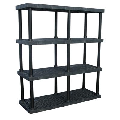 """4 Level Dura-Shelf® 75"""" H x  66"""" W x 24"""" L"""