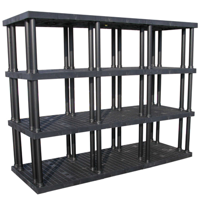 "4 Level Dura-Shelf® 75"" H x 96"" W x 36"" L"