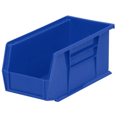 """10-7/8"""" L x 5-1/2"""" W x 5"""" Hgt. OD Blue Storage Bin"""