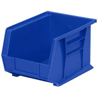 "10-3/4""L x 8-1/4""W x 7""H OD Blue Storage Bin"