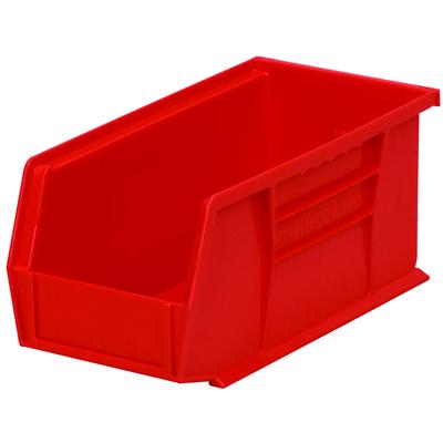 """10-7/8"""" L x 5-1/2"""" W x 5"""" Hgt. OD Red Storage Bin"""